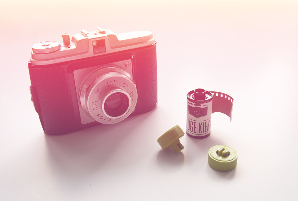 35mm film adapter voor midden formaat camera's | TUTORIAL