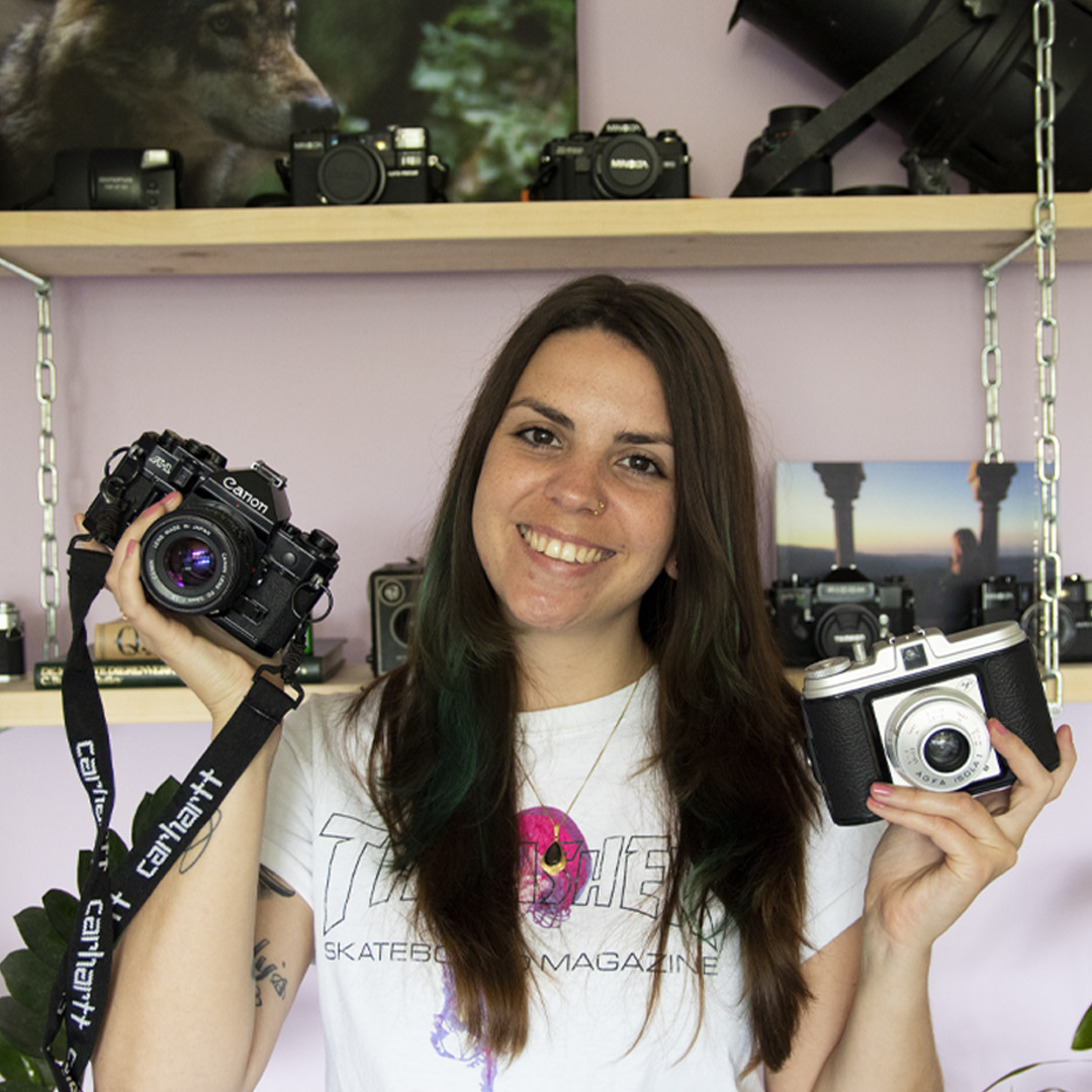Analoge camera collectie